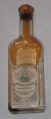 Bottle of Perry Davis Painkiller; H C Kruse; 1978-0533-7