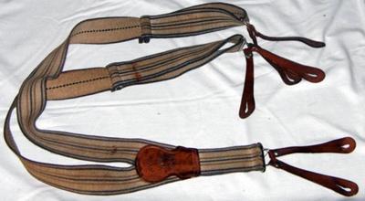 Mens Braces; c1960's; 1978-0611-1