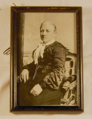 Framed Photo of Mrs John Hall; 2006-3187-1
