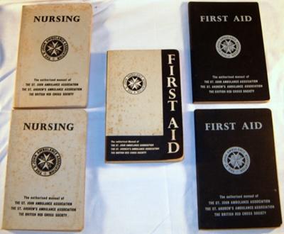 St John Assoc Medical Manuals (x5); St John Ambulance Assoc.; 1983-1477-1