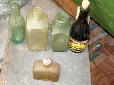 Misc Bottles x5; 1978-0577-1