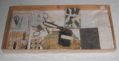 Display Sewing Box; 1977-0317-1