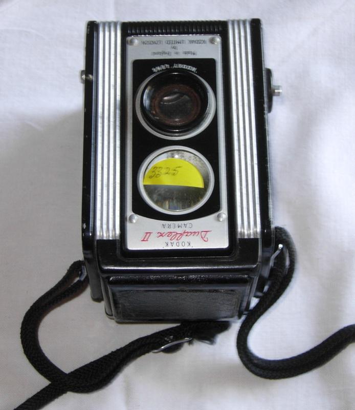 how to open a kodak duaflex camera