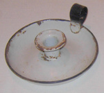 Enamel Candlestick Holder; 1977-0108-1