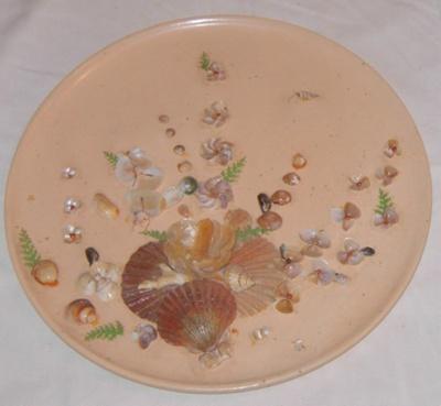 Shell Plaque; 1988-1666-1