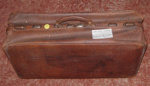 Leather Valise; 1981-1193-1