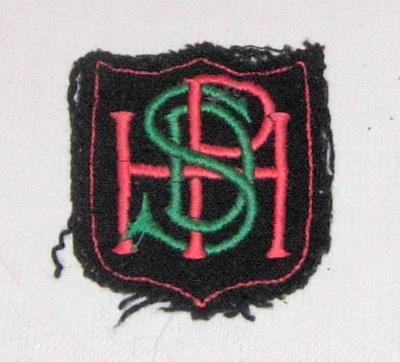 Pahiatua High School Blazer Badge; 2011-3344-1