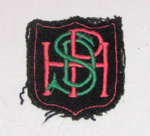 Pahiatua High School Blazer Badge; 2011-3344-1