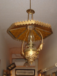 Kerosene Hanging Lamp; 1977-0450-1