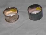 Silver Serviette Rings (2 No.); 1994-2107-1