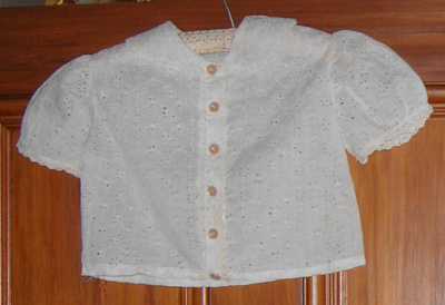Childs Broderie Anglaise Jacket; 2002-2817-1