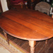 Oval dining table; 2015-3443-1