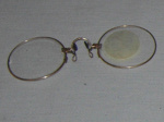 Pinz-nez spectacles; 1982-1257-1