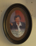 Framed Photo - Mrs Margery Bentley Museum Secretary; 2006-3184-1