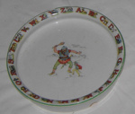 Baby's Alphabet Plate; M. F. & Co; 2011-3353-1