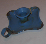 Enamel Candlestick Holder; 1981-1214-1
