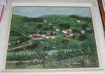 Framed Painting - Oil Painting of Makuri; Tom Prenter; 1996-2371-1
