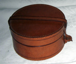 Leather Collar Boxes (2No.); 1996-2342-1