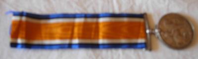 George V - 1914 to 1918 service medal; 2015/3415/1