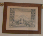 Framed Certificate - Ballance Dairy Co; c1915; 2016-3469-1