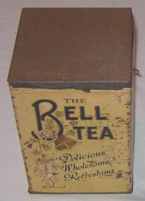 Bell Tea Tin (Med); Bell Tea Co Ltd; 1978-0532-2