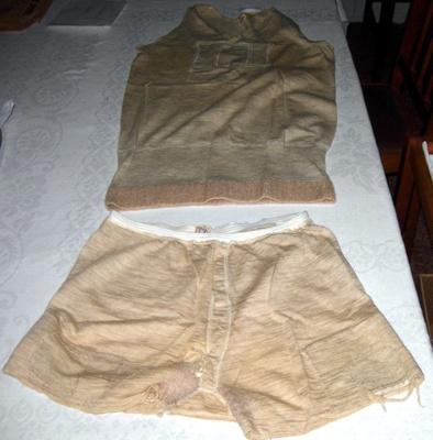 Woolen Single & U'pants; 2006-3026-1