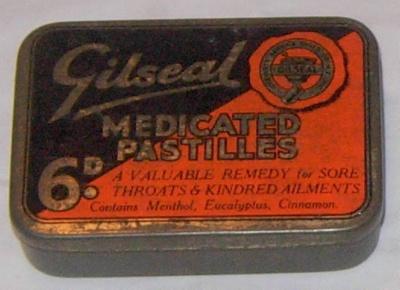 Gilseals Medical Pastilles (Tin); Gilseal; 1997-2394-1