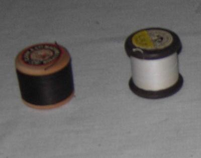 Cotton Reels (2 No. B&W); 2001-2757-1