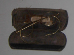 Spectacles - Gold rimmed in case; 1977-0029-1