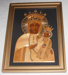 Framed Picture - Icon. Depicting Our Lady of Czestochwa; 2017/3498-1