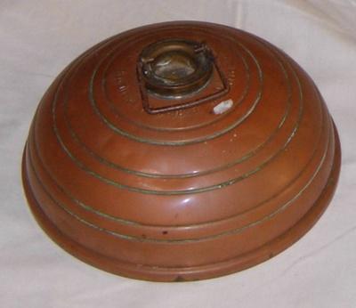 Copper Hot Water Bottle (Victorian); Wafax; 1982-1208-1