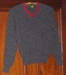 Boys grey jersey - PDHS; 2002-2843-1