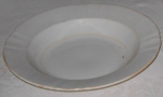 Large Porridge Plate; Doulton & Co; 1977-0022-1