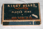Box of Plated Pins; Kirby Beard & Co Ltd; 1998-2481-1