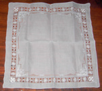 Lace Handkerchief; 2017/3508-1