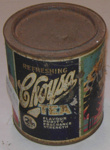 Choysa Tea Tin 2lbs; Bond & Bond; 1980-0940-1
