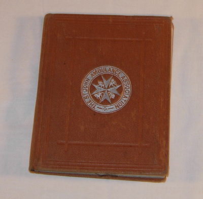 St John Home Nursing Manual (1914); Cosgrave; 1914; 1983-1359-1