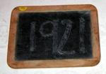 School Slate; 1992-1921-1