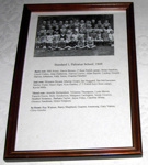 Framed photo - Pahiatua School Standard 1 1949; 2002-2849-1
