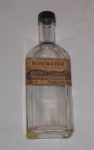 Rosewater Bottle; A G M NZ; 1979-0713-1