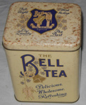 Bell Tea Tin; Bell Tea Co Ltd; 2011-3355-1