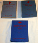 British Red Cross Manuals (x3); Cassell & Co Ltd; 1940/1; 1989-1766-1