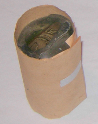 Broken Lemonade Bottle; Frank Holder; 1983-1482-1