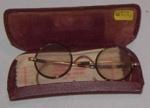 Spectacles in Case; Raymond C Mills; c1925; 1977-0202-1