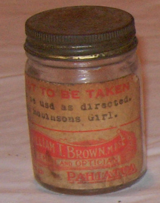 Ointment Jar; William T Brown; 1979-0922-1