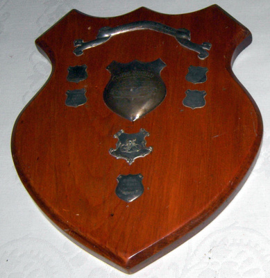 Pahiatua Cycling Club Trophy Plaque; 1999-2602-1