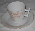Cup & Saucer (18th Century); c1700's; 1977-0305-1