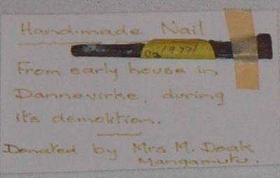 Homemade Nail; 1977-0280-1