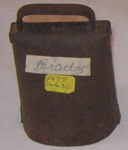 Cow Bell; 1977-0463-1