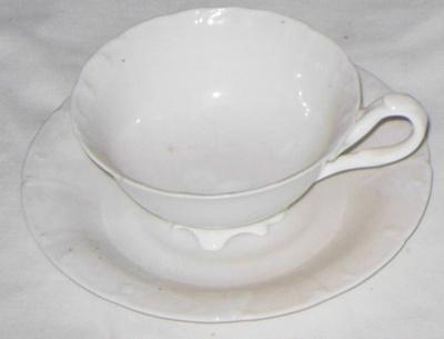 Cup & Saucer; 1977-0025-1